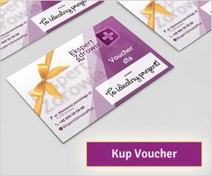 Kup Voucher na zabiegi w Ekspert Zdrowia Plus